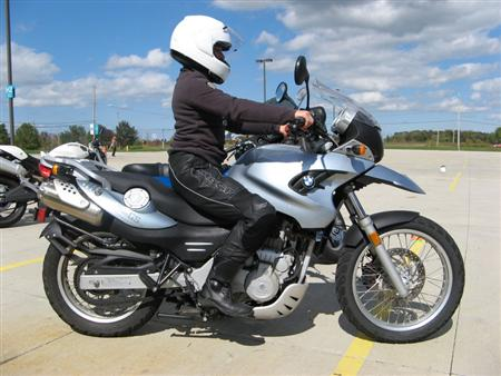 Upright Riding Position Motorcycles