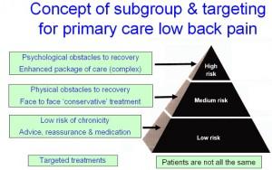 STarT Back Tool chiropractic